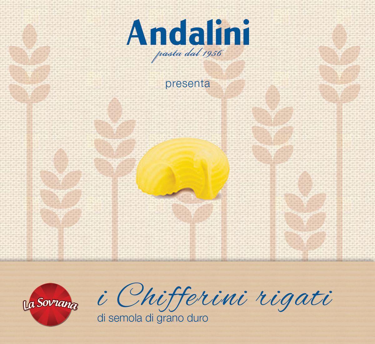 Oggi vi presentiamo i nostri #Chifferini rigati #LaSovrana, un formato originale per i vostri piatti più gustosi. Li avete già provati?