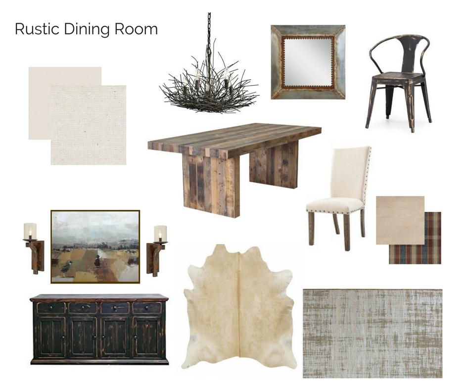 Room In A Box Rustic Dining Room Interior Design Interior Room