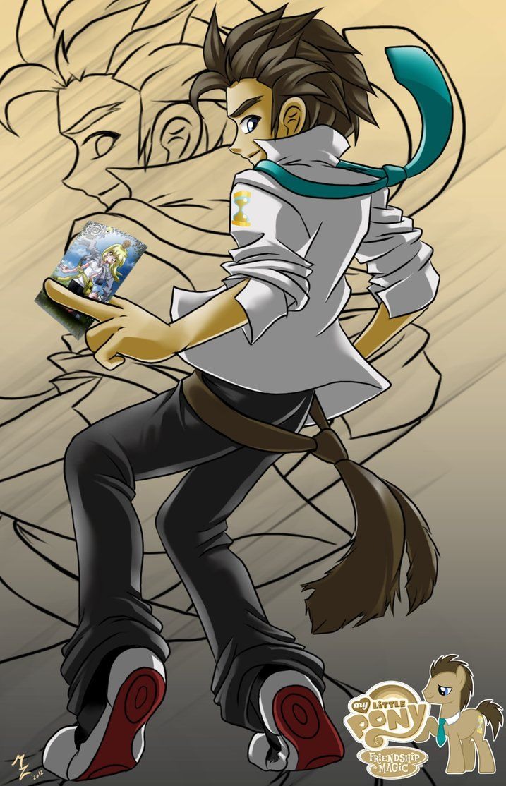 dr. whooves humanized look at more of this guys stuff he is amazing