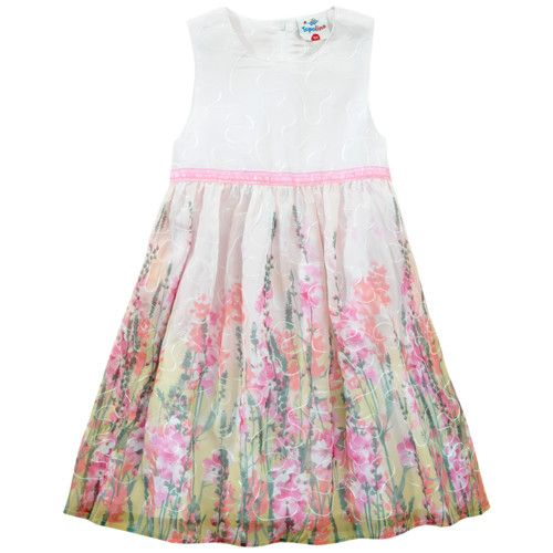 Mädchen-Chiffonkleid von Topolino für Mädchen bei ...
