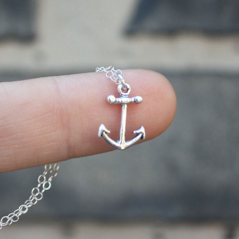 14k rose gold diamond anchor necklace solid gold anchor pendant 14k rose gold diamond anchor necklace solid gold anchor pendant 14k 18k rose yellow white gold platinum fine jewelry aloadofball Choice Image