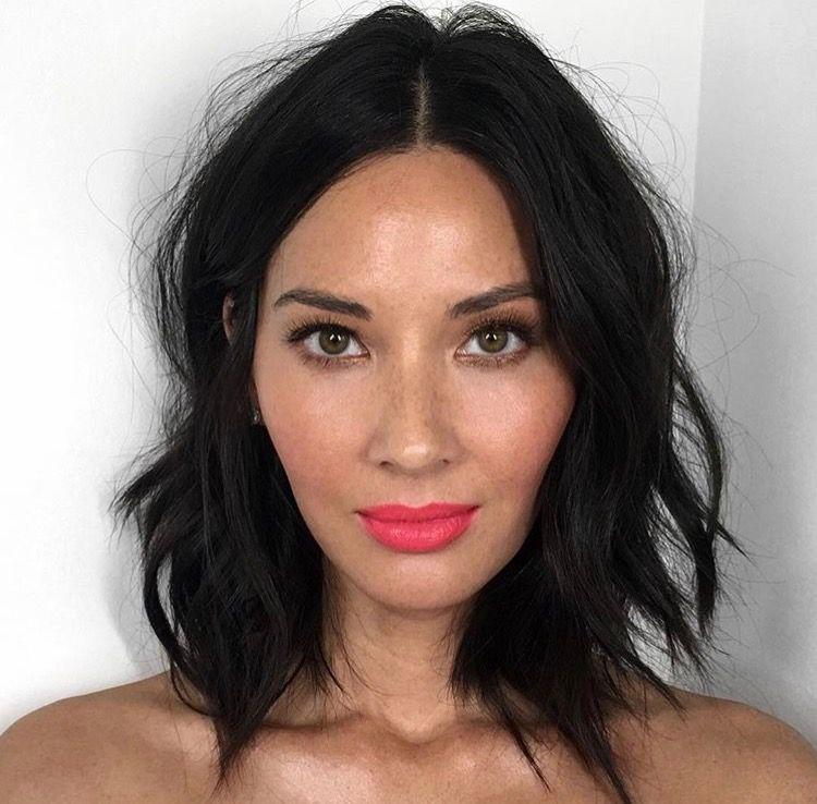 Olivia Munn Haircut And Makeup The Beauty Bar Pinterest