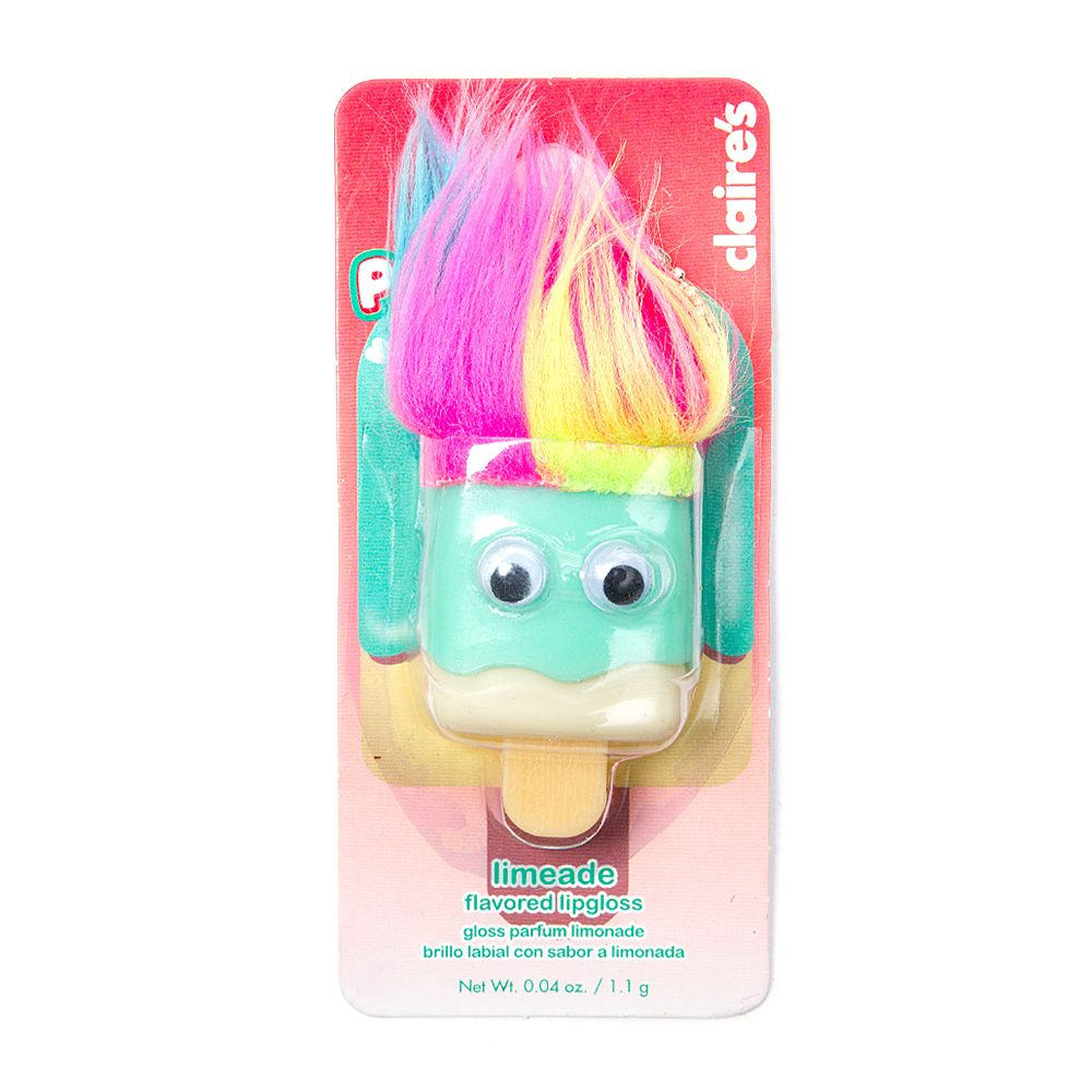 Troll Pucker Pops Flavored Lipgloss | Claire's