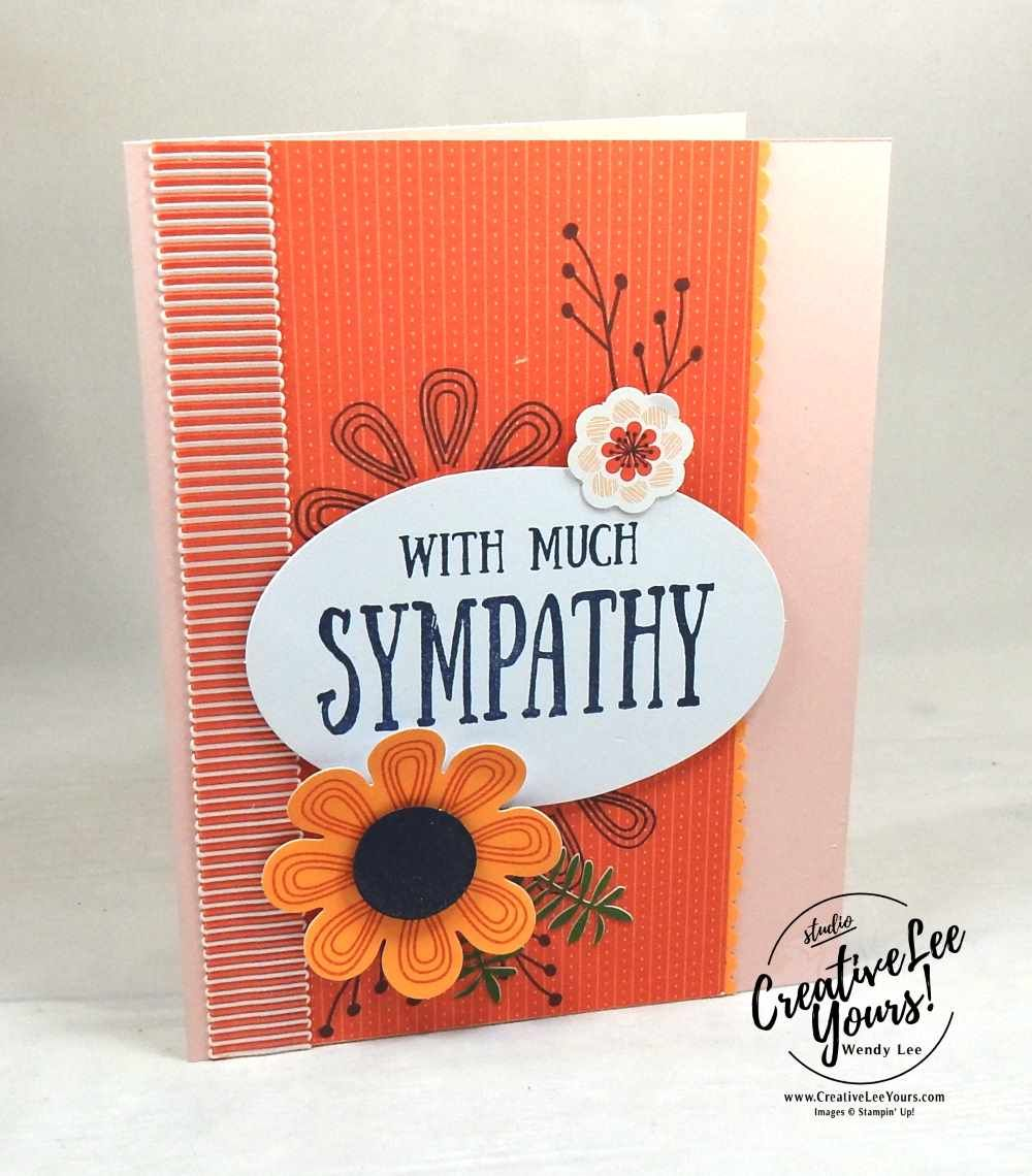 much sympathy  paper crafts cards handmade paper pumpkin