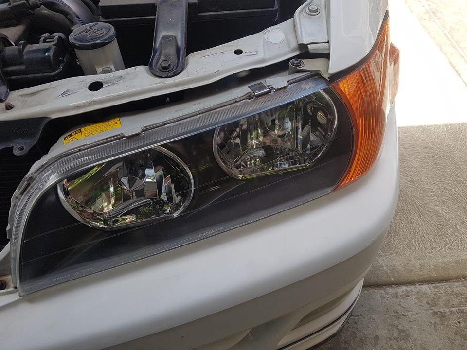 Affordable Headlights Restoration in the Melbourne CBD