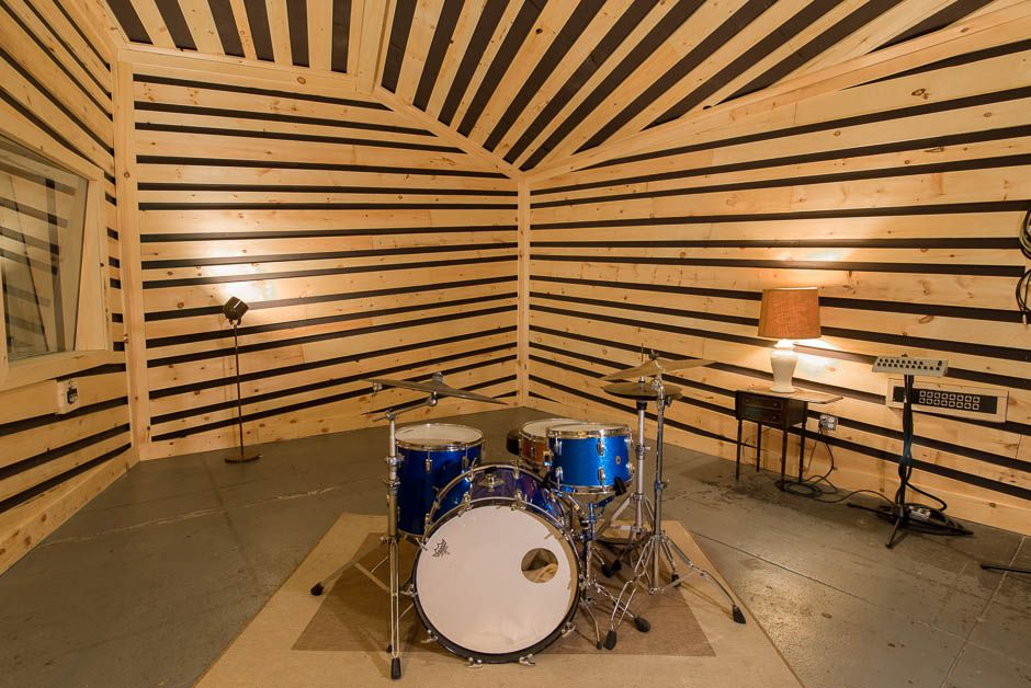 Studio A Drum Room Drum Room Recording Studio Recording Studio Design