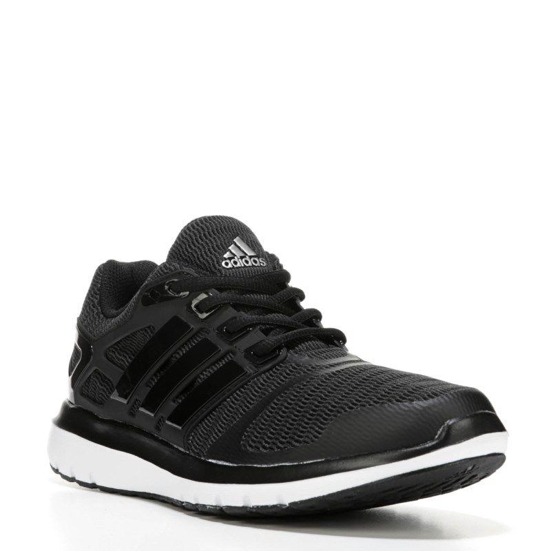 more photos 60e91 f3609 Adidas Womens Energy Cloud V Running Shoes (Black White)