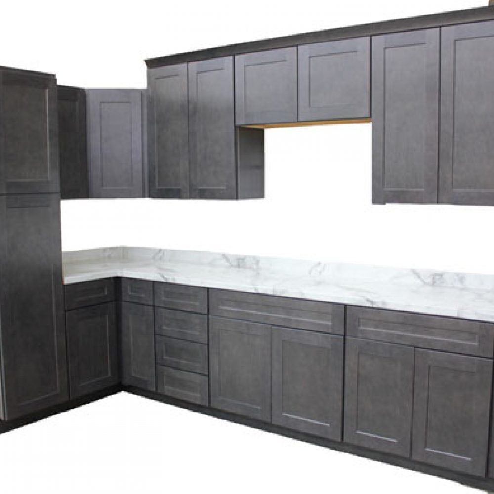 Solid Maple Face Frame Doors And Drawers Dovetail Solid Wood Drawer Box 3 X2f 4 Quot Slate Kitchen Kitchen Cabinets For Sale Maple Kitchen Cabinets