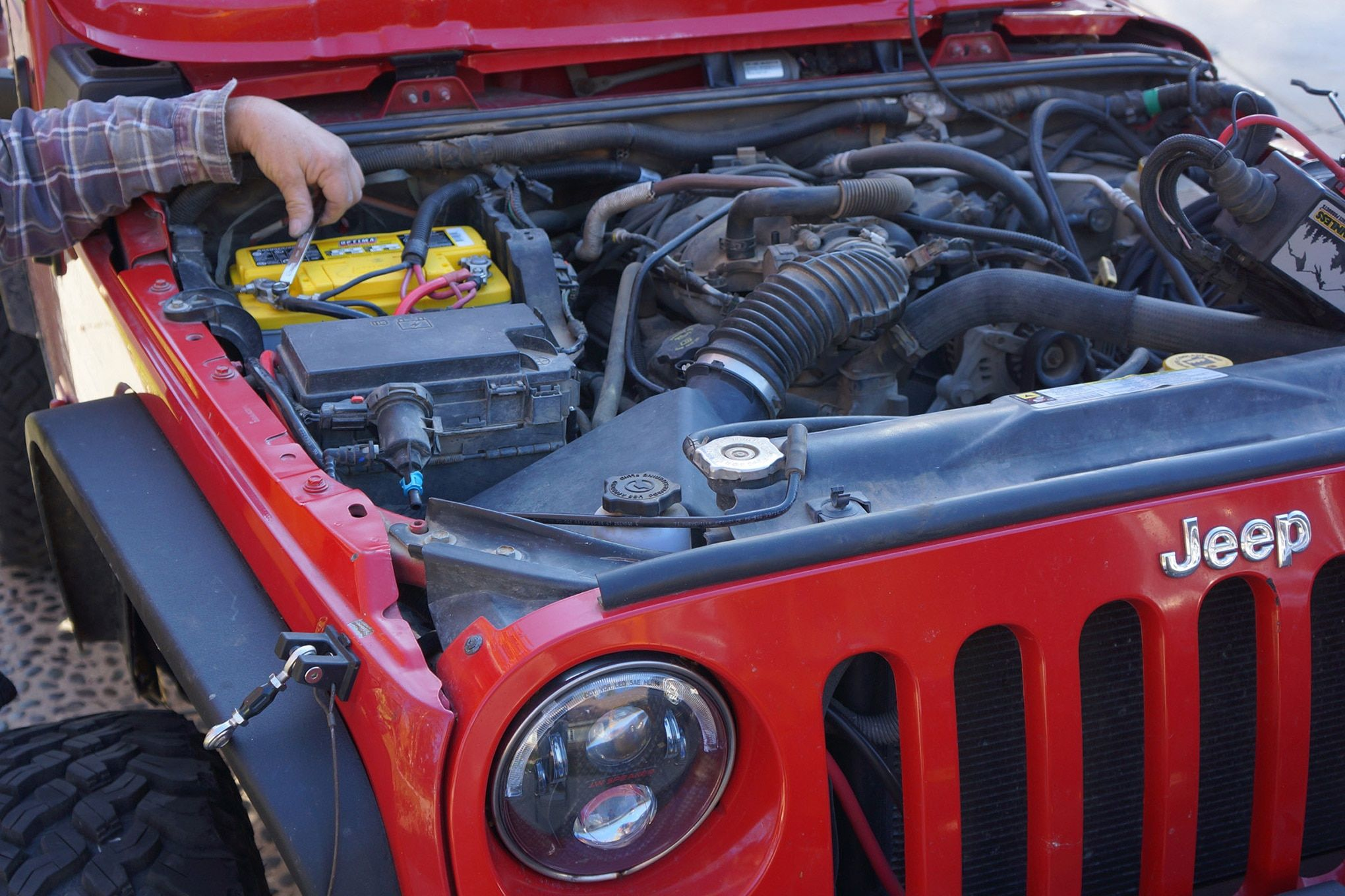 Jeep Jk Battery Jeep Jk Jeep Jeep Brand