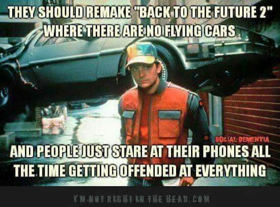 Pin By Tom Carter On List Back To The Future Funny Memes Phone Humor