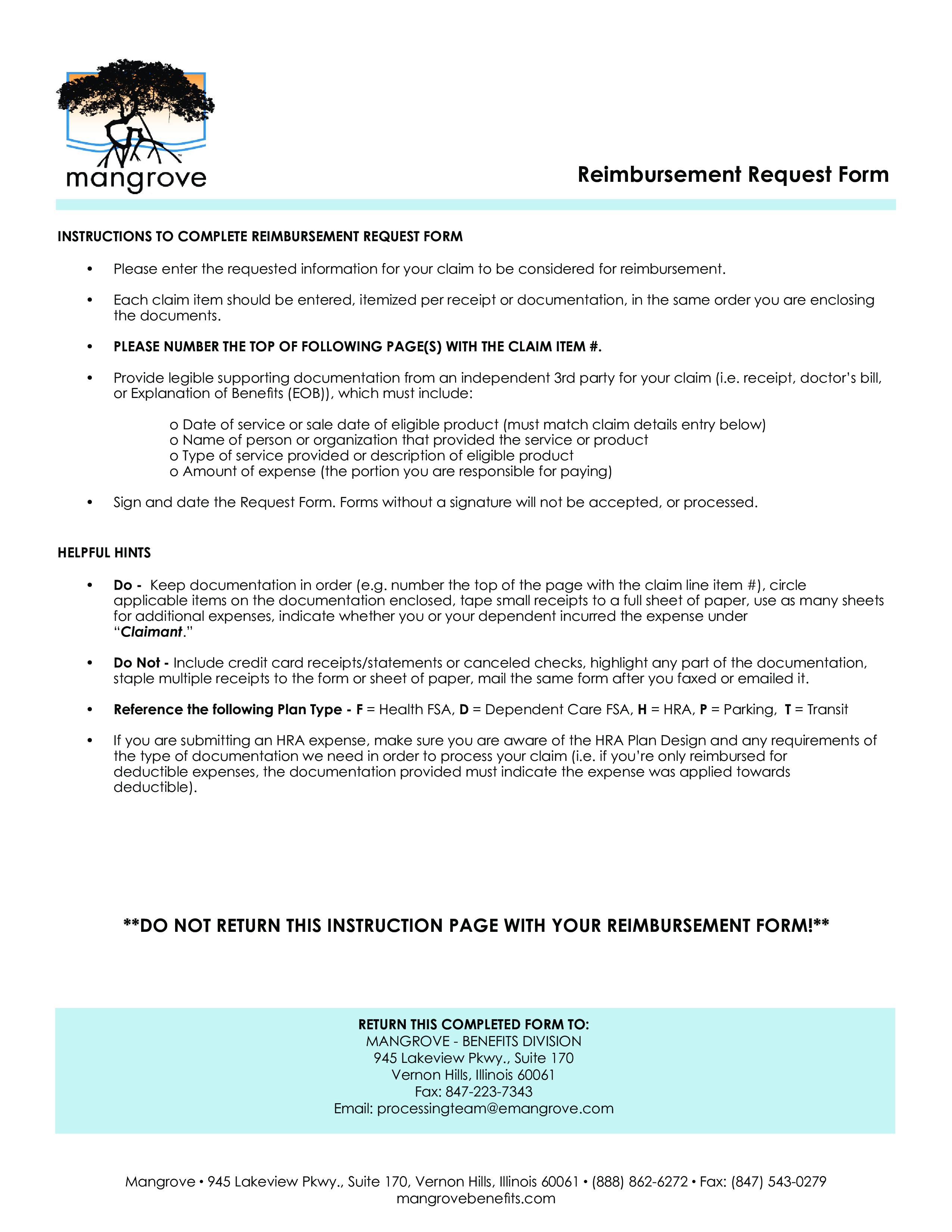 Reimbursement Request Form How To Create A Reimbursement Request Form Download This Reimbursement Request Form Template Templates Request Business Template
