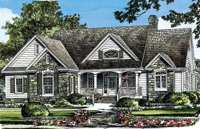 Home Plan The Laycrest by Donald A. Gardner Architects