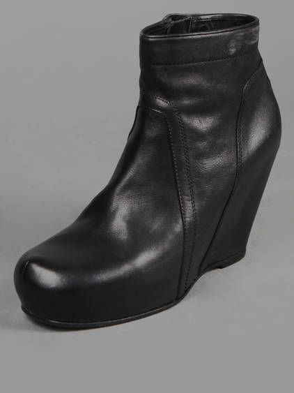 CLASSIC LEATHER WEDGE - Rick Owens. I NEED A PAIR