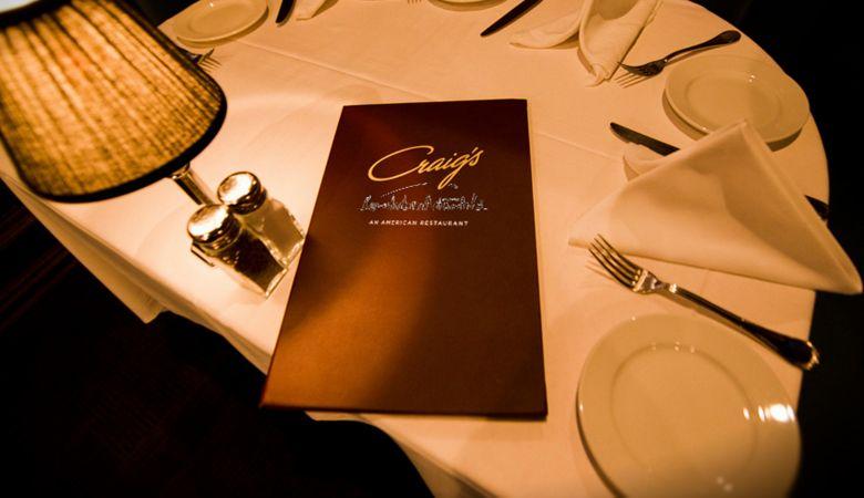 An American Restaurant 8826 Melrose Avenue Los Angeles Ca 90069 Reservations 310 276 19 Los Angeles Restaurants American Restaurant Hollywood Restaurants