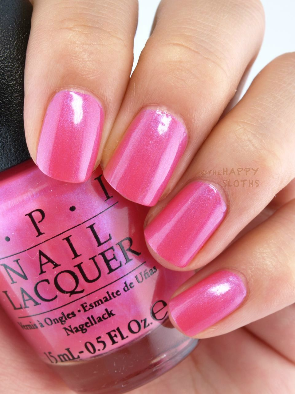 The happy sloths opi brights summer collection review and