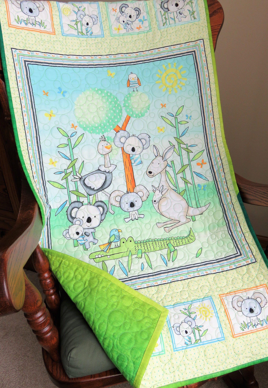 Handmade Baby Wall Hanging For Kangaroo Nursery