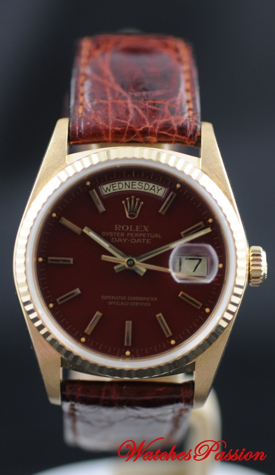watch products maroon pin watches rose joule breda gold