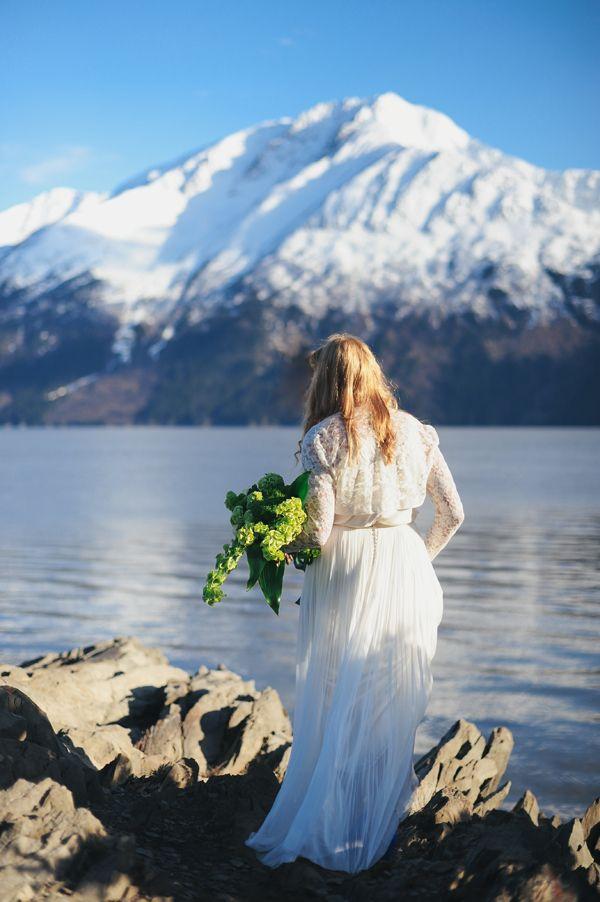 Elopement To Alaska WeddingErica RoseEngagement PhotographersEngagement