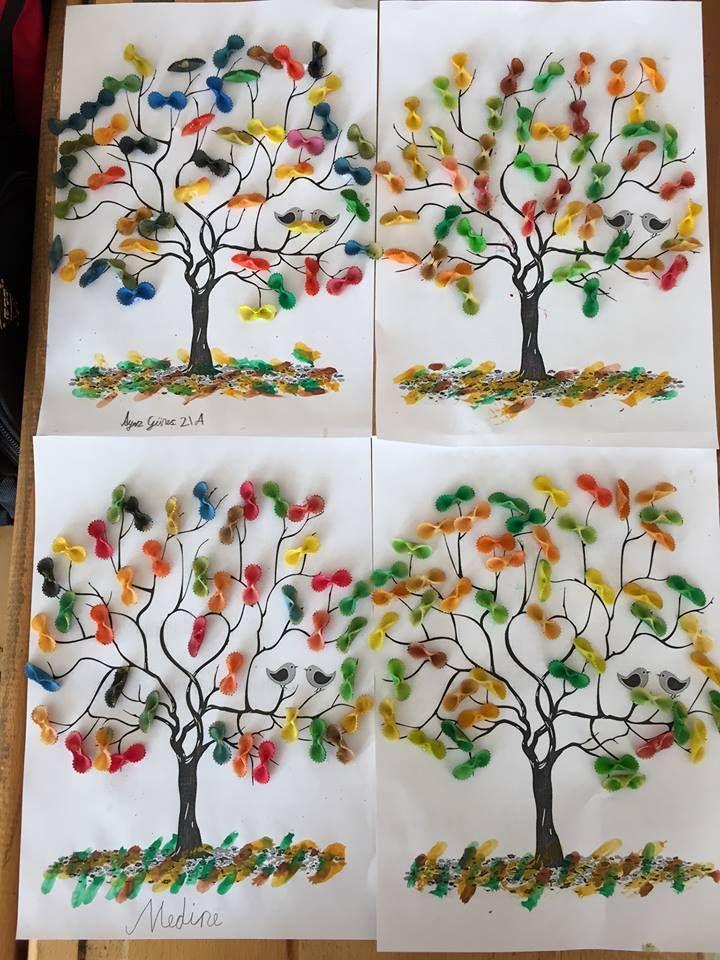 El Işi Etkinliği Makarna Ağacı 1sinif Etkinlik Artigianato