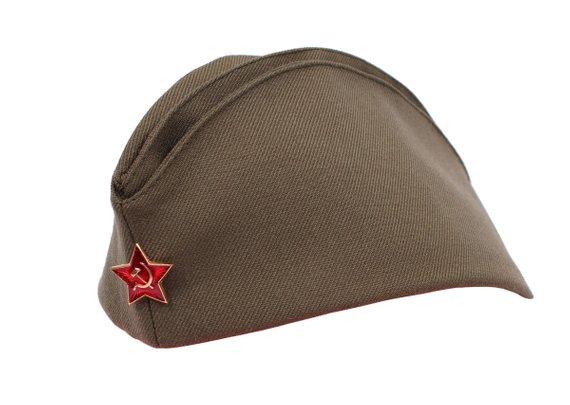 Soviet Commanders Field Military Cap Ussr Pilotka Hat Summer Army Headdress Military Cap Military Headgear Sailor Cap