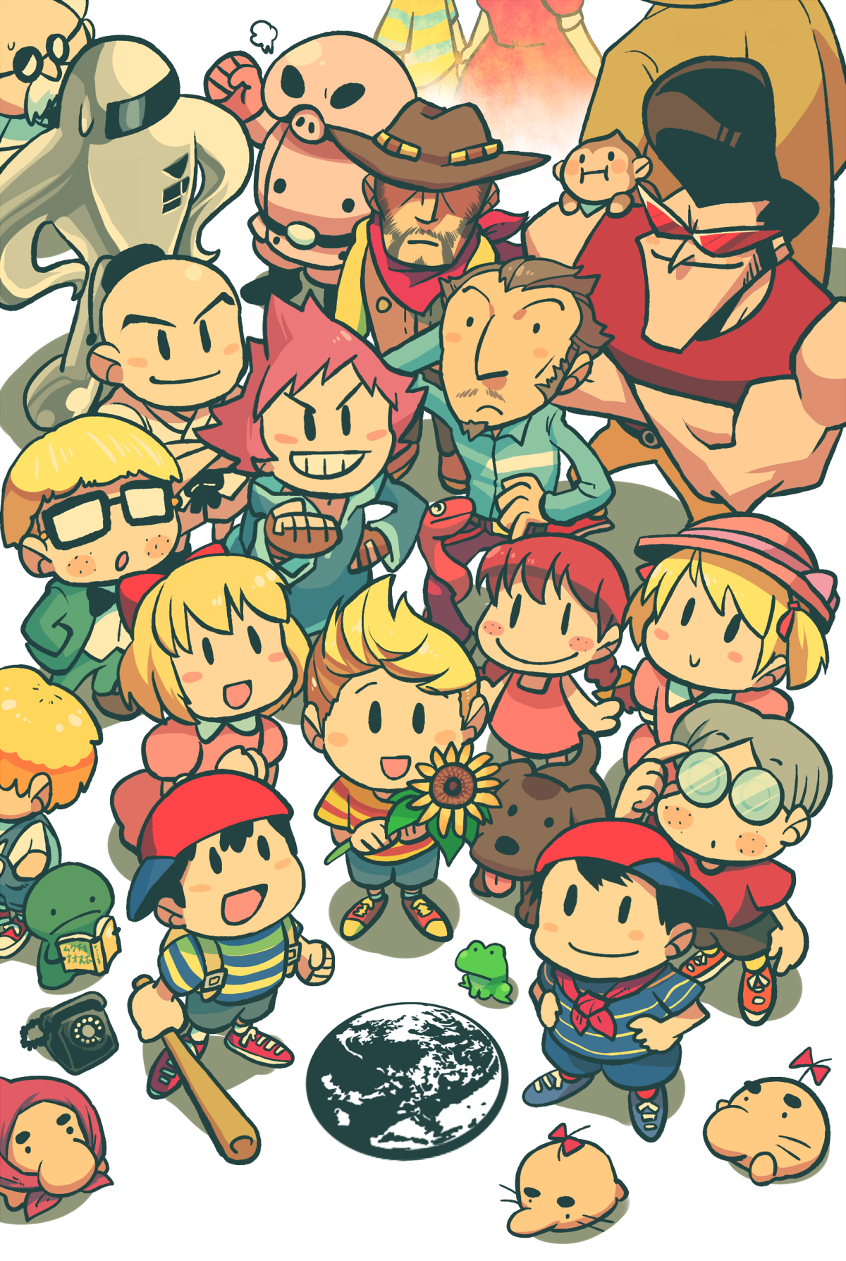 MOTHER | Mother/Earthbound | Mother games, Lucas mother 3, Super