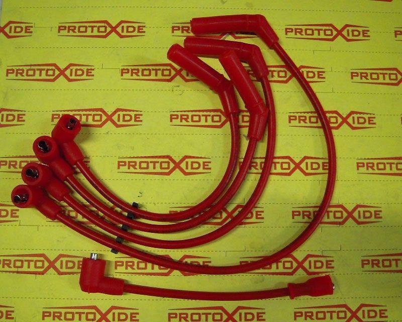 Cavi Candela Per Fiat Uno Turbo 1 300 Rossi Alta Conducibilita
