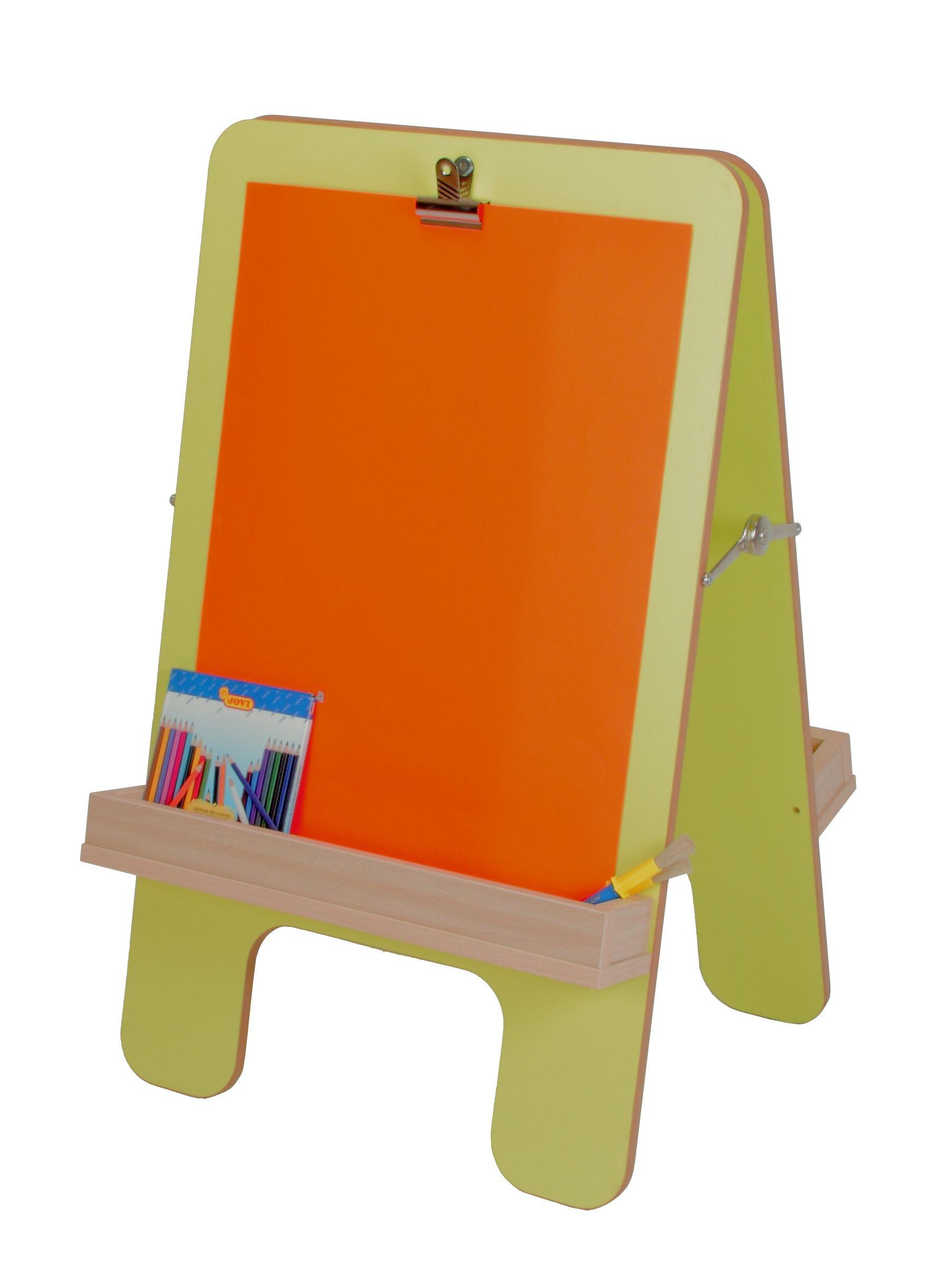 Caballete pintura 2 niños | Equipamiento Guarderias Infantiles ...