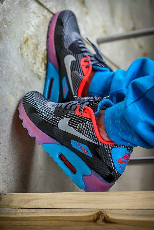 4dbbe2d6c6e85 Nike Air Max 90 Knit Jacquard ICE