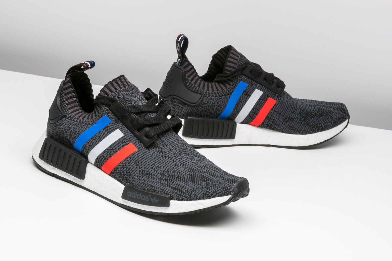 brand new 7a132 5efb0 One-half of the adidas NMD R1 Primeknit