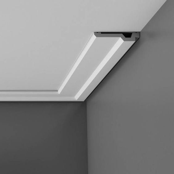 Architecture 5 Modern Crown Molding Style Ideas Together With Instead Of Traditional Moulding