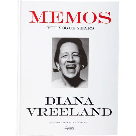 Rizzoli Diana Vreeland Memos: The Vogue Years at Barneys.com