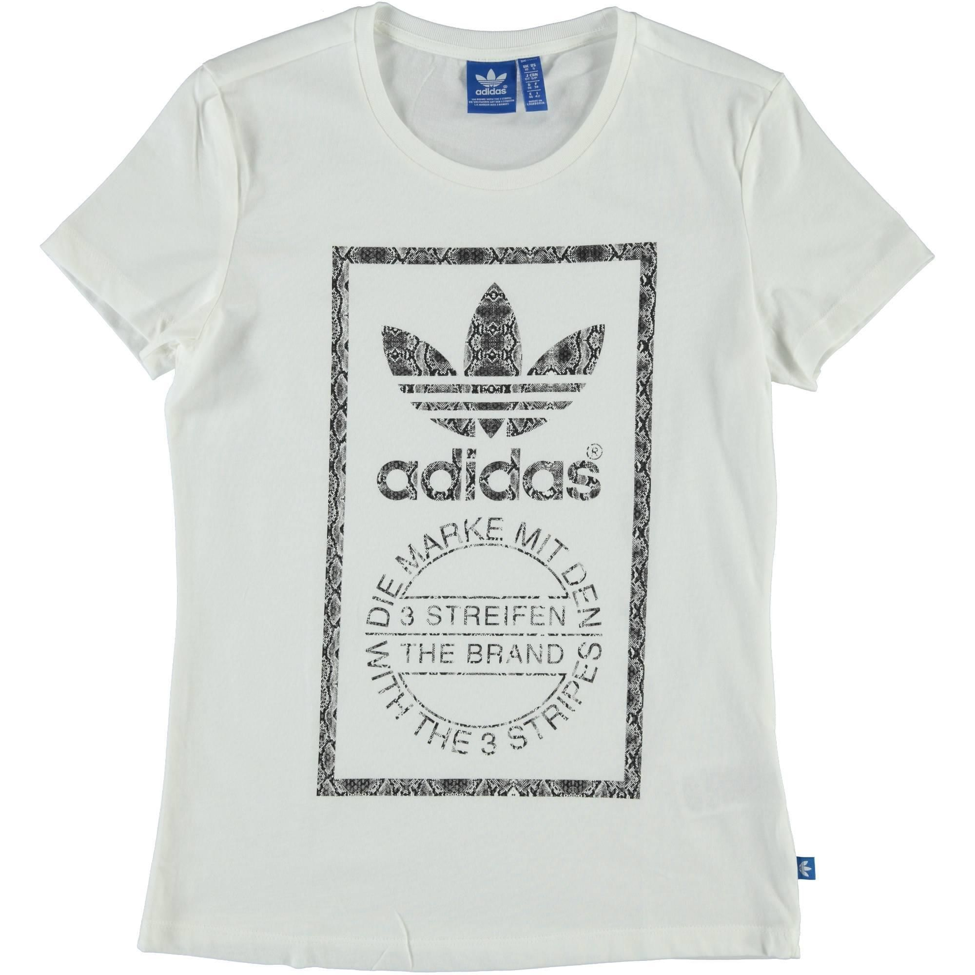 T shirt bianca con logo Adidas stam donna - € 24,90 | Nico.it - #nico #nicoabbigliamentocalzature #sport #fitness #black #newarrival #newcollection #adidas #adidasessential