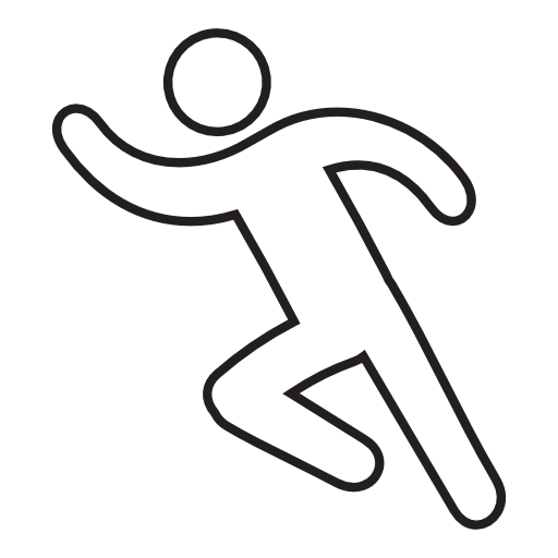 Running Man Free Vector Icons Designed By Freepik Running Man Man Running Running Drawing