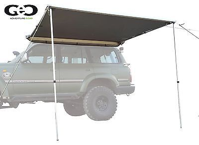 Details About Awning For Roof Top Tent W Led Geo Adventure Gear Ga 200 250l 79 X 98 5 Com Imagens Barraca Led Toldo
