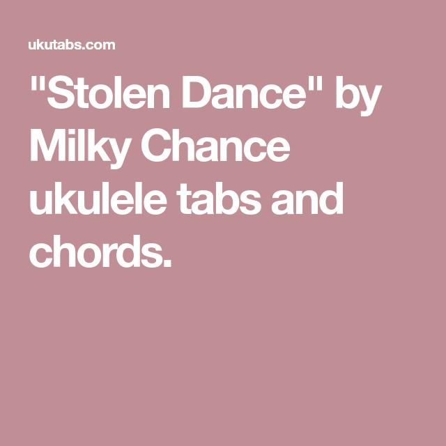 Stolen Dance\