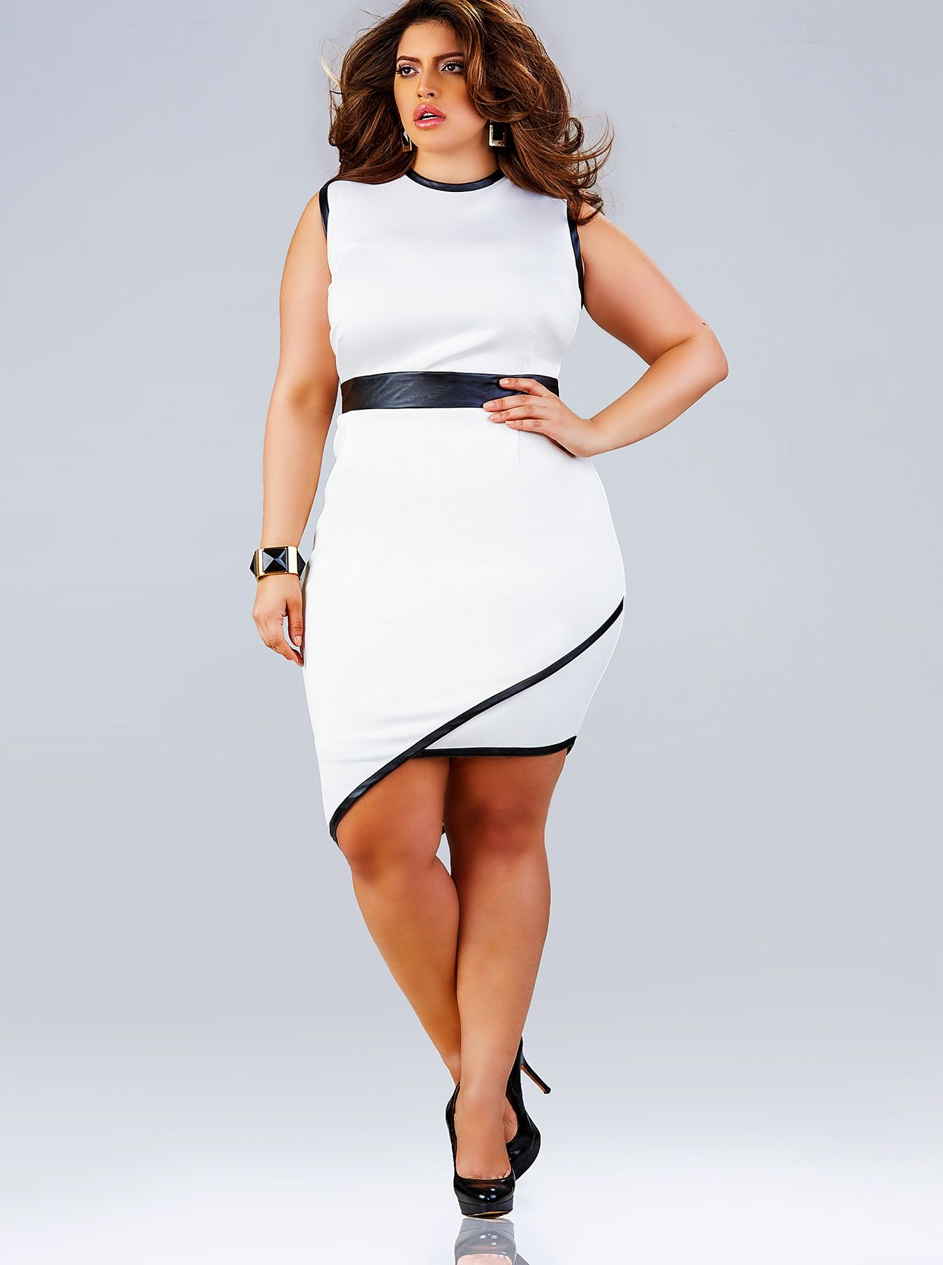 """Beth"" Asymmetrical Dress - Off White - What's New"
