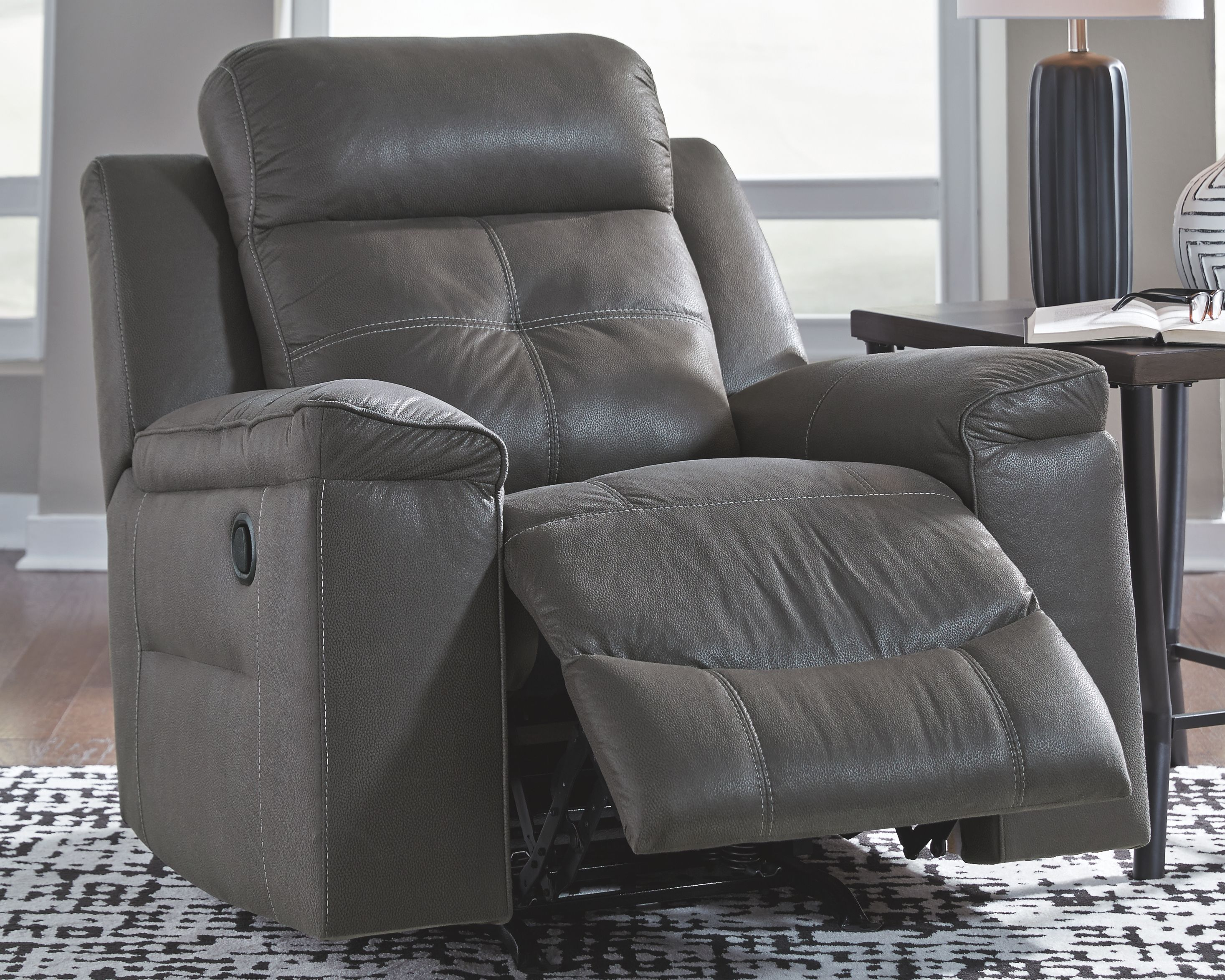 Magnificent Jesolo Recliner Dark Gray Products In 2019 Recliner Bralicious Painted Fabric Chair Ideas Braliciousco