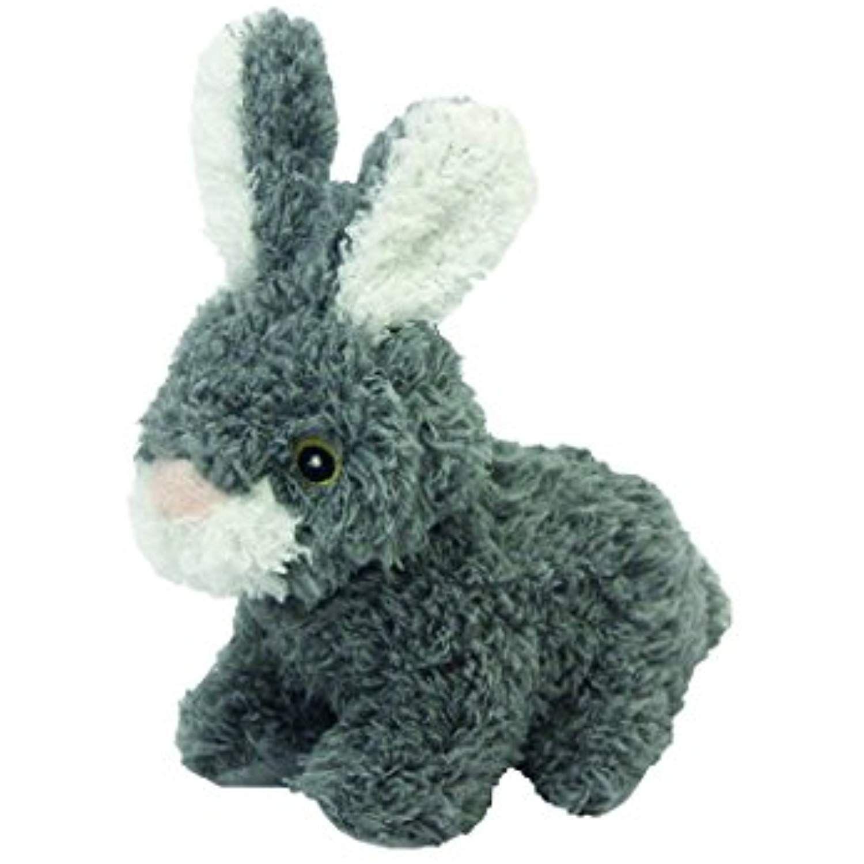 Multipet S Look Who S Talking Plush Talking Rabbit Dog Toy 6 Inch