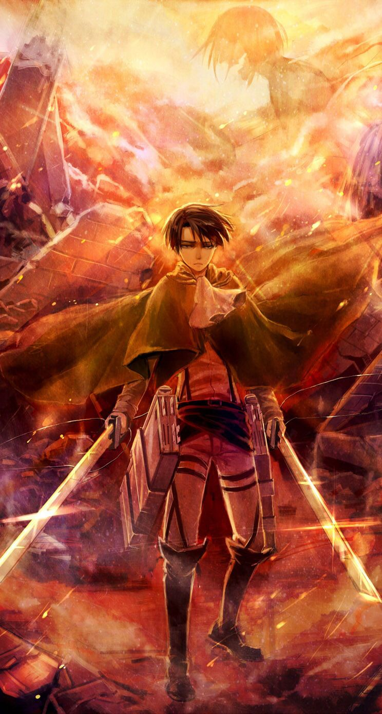 Shingeki no Kyojin (Attack on titan) Fan Art: Levi