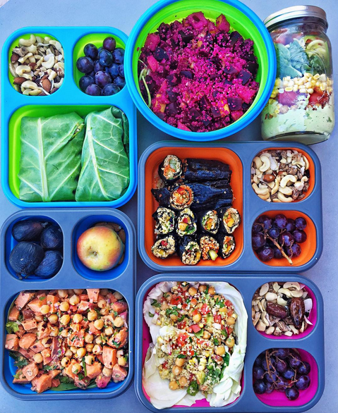 Healthy Vegan Lunch Ideas For School Or Work Part 2 New