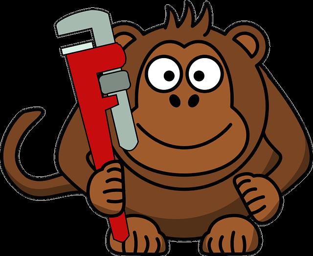 Free Image On Pixabay Monkey Wrench Ape Craftsman