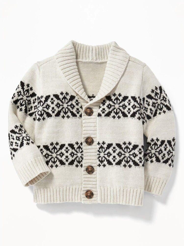 b5430df53 Fair Isle Shawl-Collar Cardigan for Baby  26.99 Color  Multi Fair ...