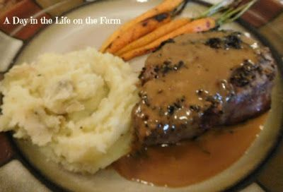 Treat Dad to grilled Filet Mignon with Zip Sauce this Father's Day.  Guaranteed to make him groan with happiness.  #SundaySupper