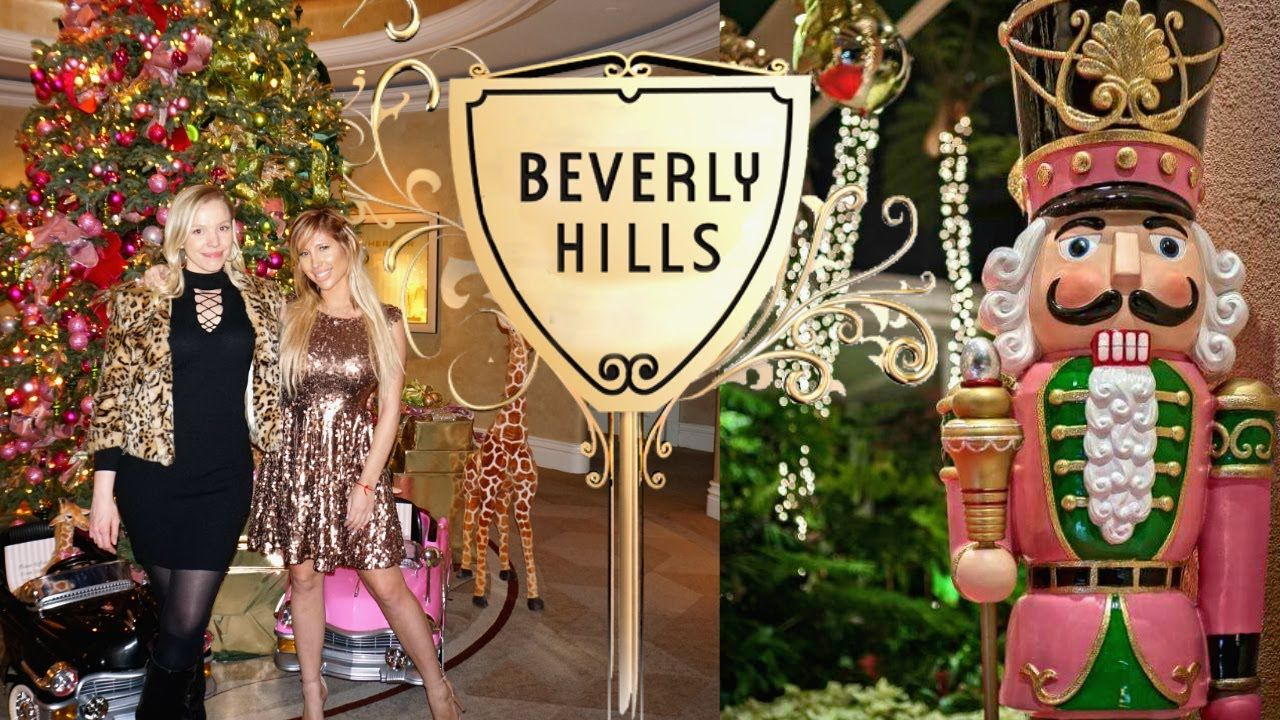 So Much Christmas Inspo In Beverly Hills At The Beverly Hills