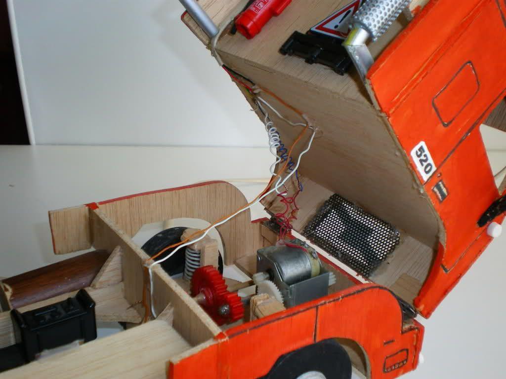 """Mi camión """"Volvo FH 16 520 Globetrotter XL6x4"""" hecho en"""