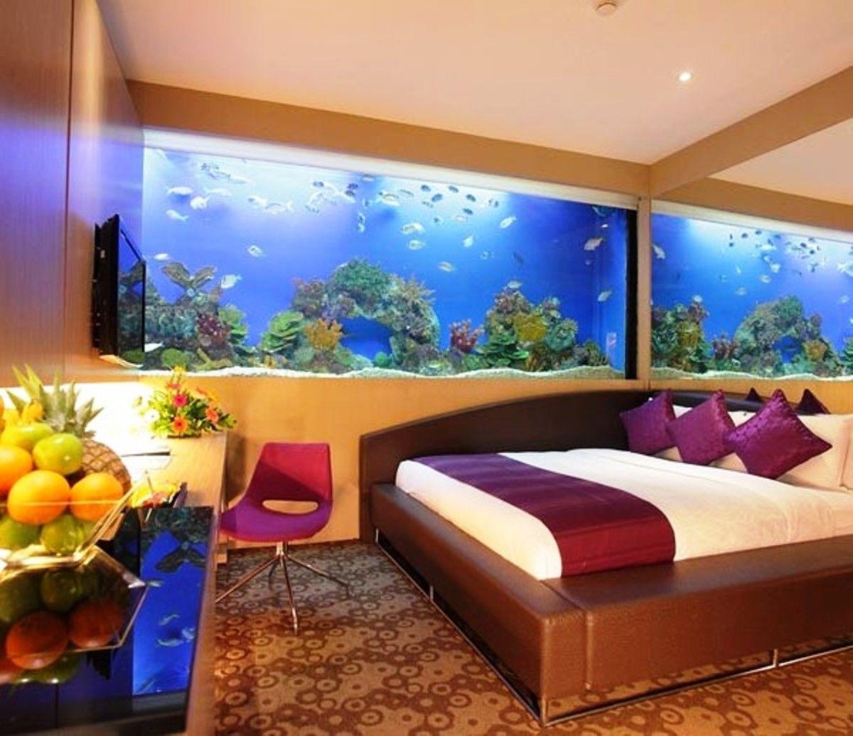 Aquarium Decor Ideas Bedroom - Real House Design