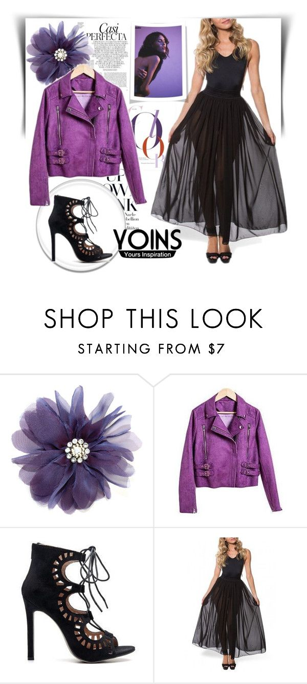 """""""Yoins"""" by fashion-336 ❤ liked on Polyvore featuring Whiteley"""