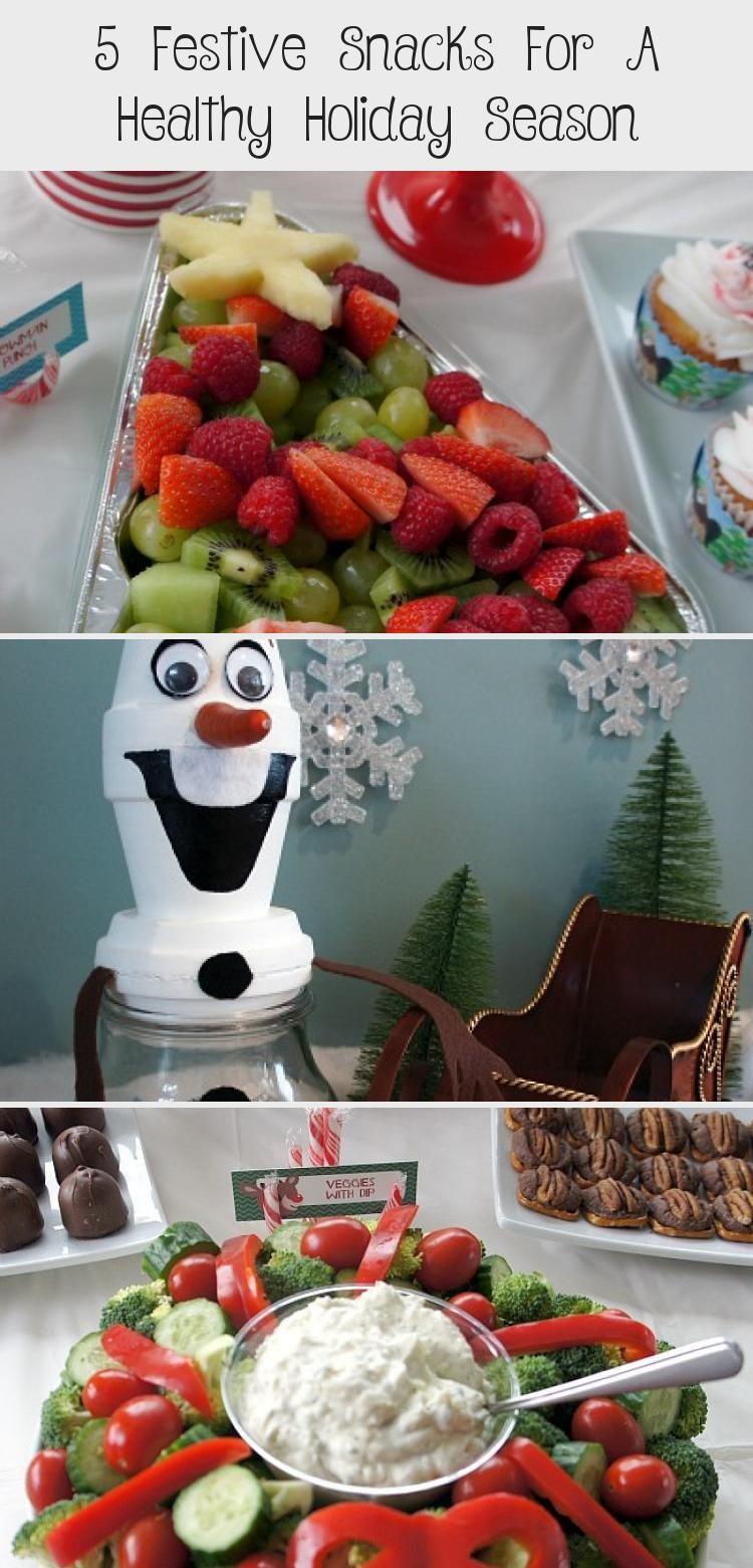 5 Festive Snacks For A Healthy Holiday Season Christmas