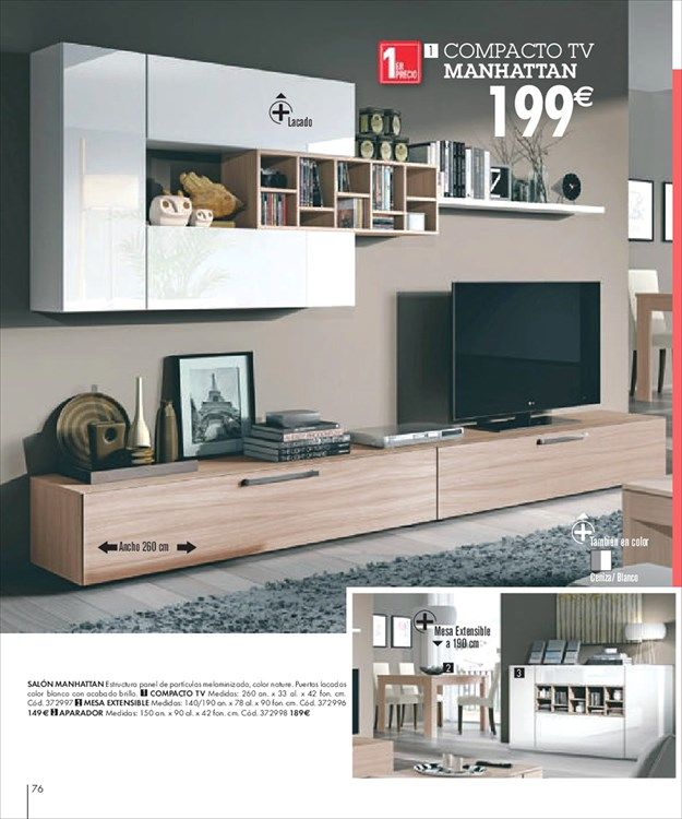 Catálogo de ofertas de Conforama | Home, Room, Flat screen