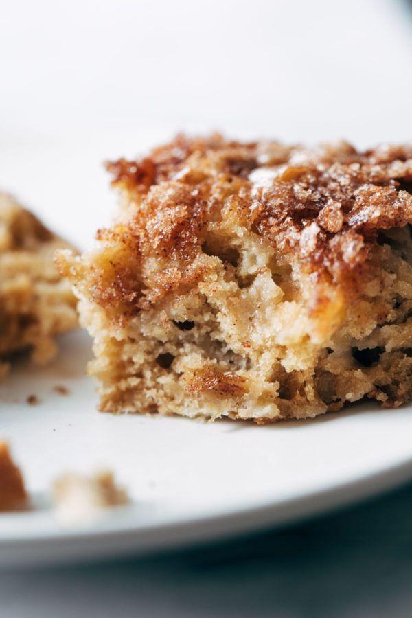 Cinnamon Sugar Apple Cake (Pinch of Yum) Cinnamon sugar